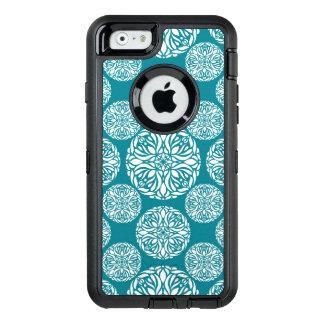 Coque OtterBox iPhone 6/6s Flocon de neige floral d'hiver