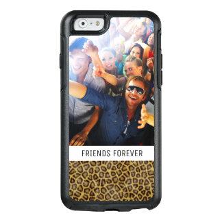 Coque OtterBox iPhone 6/6s Fourrure faite sur commande de léopard de photo et