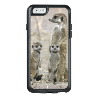 Coque OtterBox iPhone 6/6s Garde d'enfants de Meerkat et chiots (Suricata de