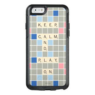 Coque OtterBox iPhone 6/6s Gardez le calme et le jeu dessus
