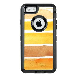 Coque OtterBox iPhone 6/6s grand arrière - plan d'aquarelle - peintures 3