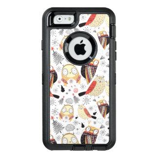 Coque OtterBox iPhone 6/6s Hibou drôle de texture