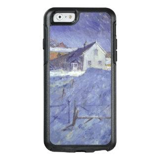 Coque OtterBox iPhone 6/6s Hiver à la loge argentée