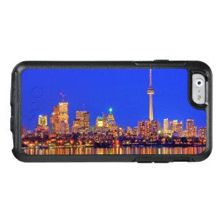 Coque OtterBox iPhone 6/6s Horizon du centre de Toronto la nuit