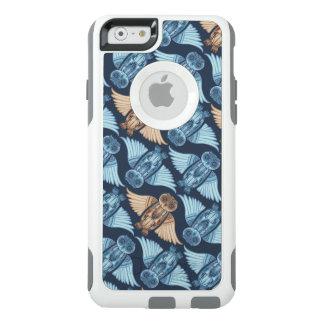 Coque OtterBox iPhone 6/6s Illustration de hibou dans le motif abstrait.