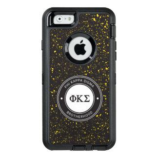Coque OtterBox iPhone 6/6s Insigne du sigma   de Kappa de phi