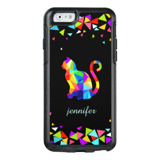 Coque OtterBox iPhone 6/6s iPhone géométrique coloré de chat 6 séries de