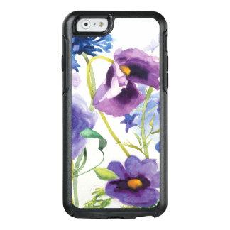 Coque OtterBox iPhone 6/6s Jardin mélangé bleu et pourpre