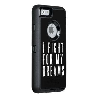 Coque OtterBox iPhone 6/6s Je lutte pour votre cas de téléphone de Stong de