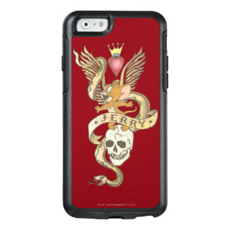Coque OtterBox iPhone 6/6s Jerry a tordu le tatouage 2