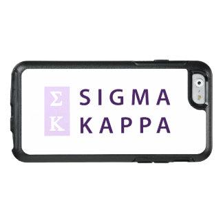 Coque OtterBox iPhone 6/6s Kappa de sigma empilé