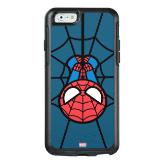 Coque OtterBox iPhone 6/6s Kawaii Spider-Man accrochant upside-down