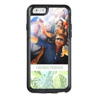 Coque OtterBox iPhone 6/6s La paume tropicale en pastel | ajoutent votre
