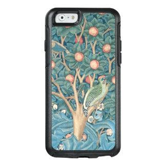 Coque OtterBox iPhone 6/6s La tapisserie de pivert, détail des piverts