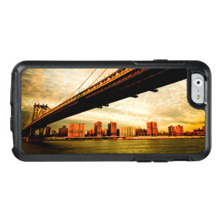 Coque OtterBox iPhone 6/6s La vue de pont de Manhattan du côté de Brooklyn
