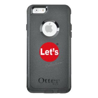 Coque OtterBox iPhone 6/6s Laissez-nous art/logo de collection par des