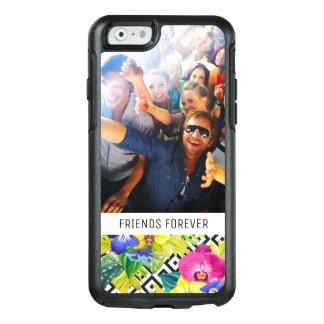 Coque OtterBox iPhone 6/6s Le bégonia et la paume | d'orchidée ajoutent votre