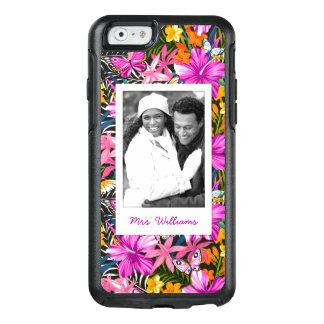 Coque OtterBox iPhone 6/6s Le feuille et les fleurs tropicaux   ajoutent