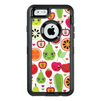 Coque OtterBox iPhone 6/6s le fruit badine la pomme d'illustration