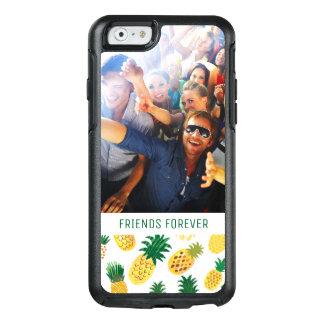Coque OtterBox iPhone 6/6s Le motif à la mode | d'ananas ajoutent votre photo