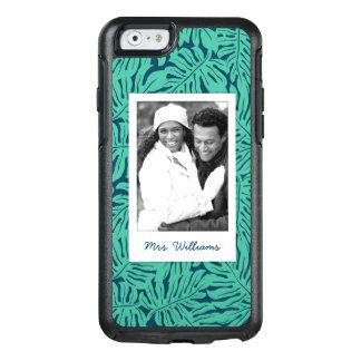 Coque OtterBox iPhone 6/6s Le motif tropical   de feuille ajoutent votre