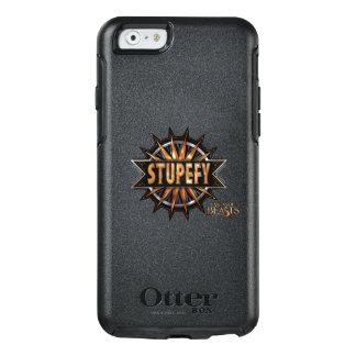 Coque OtterBox iPhone 6/6s Le noir et l'or étourdissent le graphique de