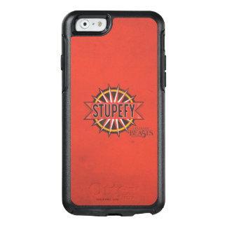 Coque OtterBox iPhone 6/6s Le rouge et l'or étourdissent le graphique de