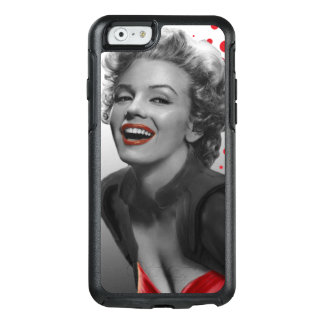 Coque OtterBox iPhone 6/6s Le rouge pointille Marilyn