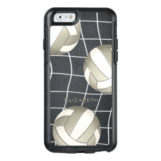 Coque OtterBox iPhone 6/6s le volleyball de femmes blanches de platine