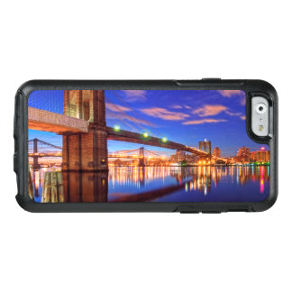 Coque OtterBox iPhone 6/6s L'East River, pont de Brooklyn, Manhattan