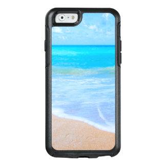 Coque OtterBox iPhone 6/6s L'eau tropicale d'Aqua de jours de plage