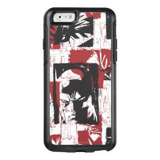Coque OtterBox iPhone 6/6s Légendes urbaines de Batman - rouge de timbre de