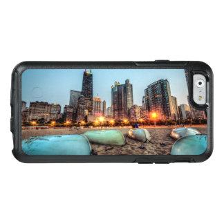 Coque OtterBox iPhone 6/6s Les canoës sur la rue de chêne échouent après