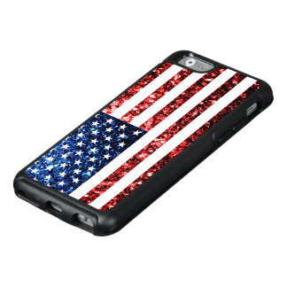 Coque OtterBox iPhone 6/6s Les Etats-Unis marquent le rouge et le bleu