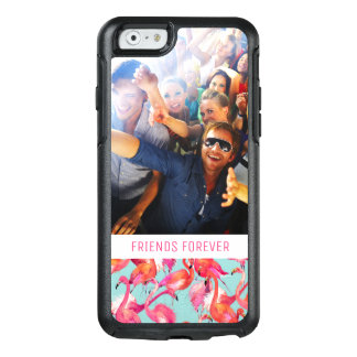 Coque OtterBox iPhone 6/6s Les flamants d'aquarelle | ajoutent votre photo et