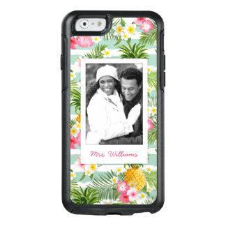 Coque OtterBox iPhone 6/6s Les fleurs et l'ananas   ajoutent votre photo et