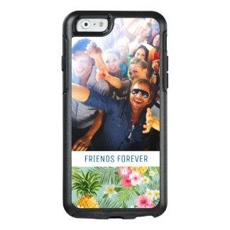 Coque OtterBox iPhone 6/6s Les fleurs et les ananas | ajoutent votre photo et