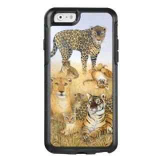 Coque OtterBox iPhone 6/6s Les grands chats