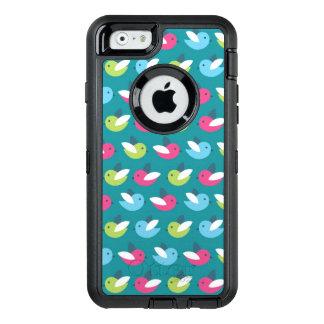 Coque OtterBox iPhone 6/6s Les oiseaux modèlent le bleu