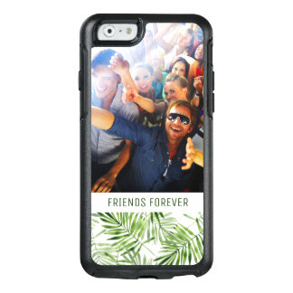 Coque OtterBox iPhone 6/6s Les palmettes vertes | ajoutent votre photo et