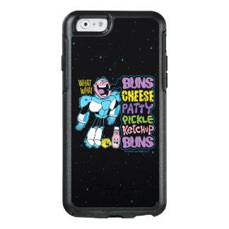 Coque OtterBox iPhone 6/6s Les titans de l'adolescence vont ! coup sec et dur