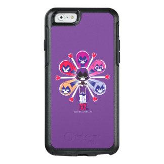 Coque OtterBox iPhone 6/6s Les titans de l'adolescence vont ! Emoticlones de