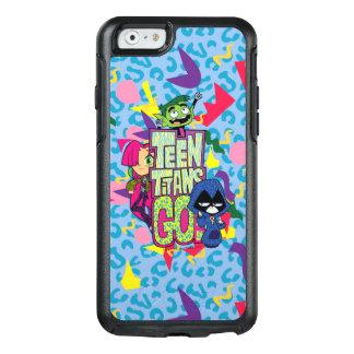 Coque OtterBox iPhone 6/6s Les titans de l'adolescence vont ! logo de poster