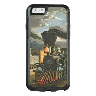 Coque OtterBox iPhone 6/6s Les trains rapides de foudre, 1863
