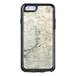 COQUE OtterBox iPhone 6/6S L'ESPACE : LUNE MAP, 1972