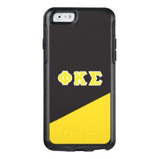 Coque OtterBox iPhone 6/6s Lettres de Grec du sigma   de Kappa de phi