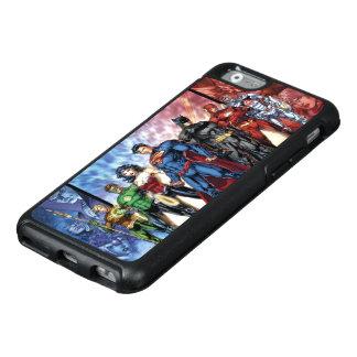 Coque OtterBox iPhone 6/6s Ligne de ligue de justice 52 de la ligue de
