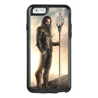 Coque OtterBox iPhone 6/6s Ligue de justice | Aquaman sur le champ de