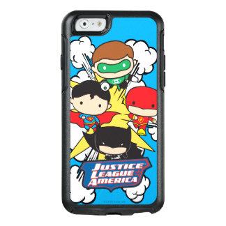 Coque OtterBox iPhone 6/6s Ligue de justice de Chibi d'explosion de