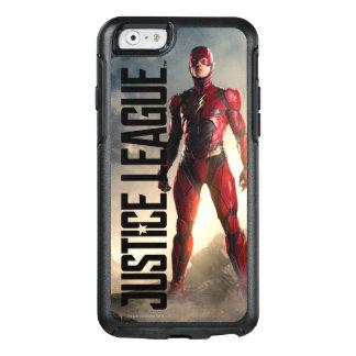 Coque OtterBox iPhone 6/6s Ligue de justice | l'éclair sur le champ de